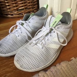 Adidas Climacool White Running Shoes